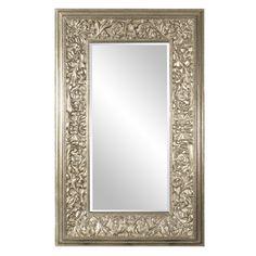"Howard Elliott Emperor Oversized Champaign Mirror 58.1/2"" x 95"" x 4.1/2"""