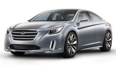 Subaru Legacy concept teases the next generation — and some competition