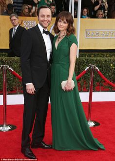 Happy family: Alexis Bledel and Vincent Kartheiser have welcomed a bouncing baby boy accor...