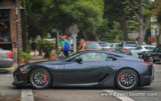 Lexus LFA spotted in Carmel, California on 08/11/2013