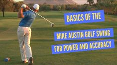 Golf Swing Basics for the Most Power and Accuracy Classic Golf, The Mike, Baseball Cards, Sports, Hs Sports, Vintage Golf, Sport