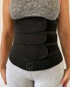 Waist Trainer Vest, Best Waist Trainer, Hourglass Waist Trainer, Waist Trainer Before And After, Best Fat Burning Workout, Sweat Belt, Improve Posture, Waist Training, Slim Waist