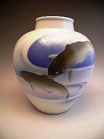 Japanese Fukagawa Porcelain