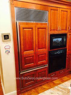 Sub Zero refrigerator 650 model repaired this month in Brentwood, CA #subzerowolf #subzerorepair #subzerorefrigerator