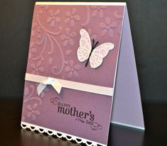 Mother's Day Card, Stampin' Up Card on Etsy, $3.75