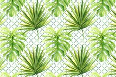 Jungle Time on White by melissahyattfabrics