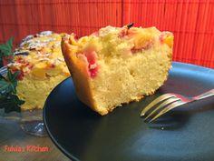Fulvia's Kitchen: #Plumcake con #pesche agli #yogurt