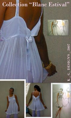 Collection 2007 de K _ G _ Design'S. Mode Guadeloupe Klaud Gervelas Créateur bien de chez nous! Styliste Modéliste