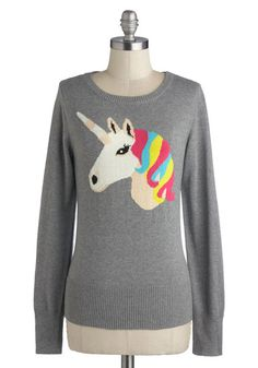 unicorn sweater. for real.