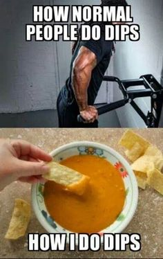 How I Do Dips - instant Humour