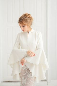 Long Sleeve Lace Bolero for Wedding Dress . 25 Long Sleeve Lace Bolero for Wedding Dress . Muslimah Wedding Dress, Muslim Wedding Dresses, Best Wedding Dresses, Wedding Hijab Styles, Bridal Shawl, Bridal Cape, Malay Wedding Dress, Kebaya Dress, Boucle Coat