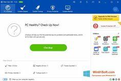 Скриншот программы Wise Care 365 для Windows 8