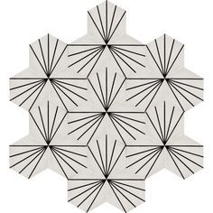 Moroccan Encaustic Cement Hexagonal Tile Artic-30-hex