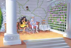 girlsbydaylight:  Luna, Artemis and Diana by ElynGontier