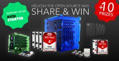 Kobol Team - Win a Helios4 Personal Cloud Open Source NAS (16TB) - http://sweepstakesden.com/kobol-team-win-a-helios4-personal-cloud-open-source-nas-16tb/
