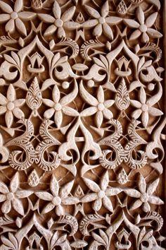 Al Hambra Grenada Ornate Architecture