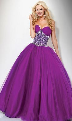 2012 Ball Gown Sweetheart Floor Length Tulle Quinceanera Dress Beading&Sequins With Ruffles USD 232.31 LDPT7FSXSN - LovingDresses.com
