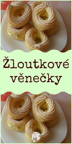 Žloutkové věnečky Bagel, Vip, Appetizers, Bread, Food, Chef Recipes, Koken, Snacks, Meals