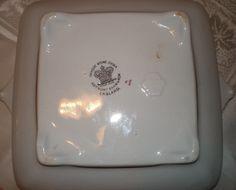 Anthony Shaw & Son Tea Leaf Iron Stone Square Vegetable Dish | eBay