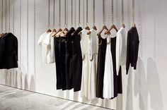 Victoria Beckham opens first store in Dover Street, Mayfair London,close-up, pinned by Ton van der Veer