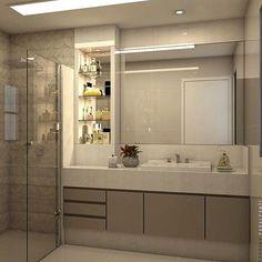 Home Interior Design Layout Master Bath Ideas Bathroom Design Inspiration, Bad Inspiration, Bathroom Design Luxury, Modern Bathroom Design, Luxury Bathrooms, Bath Design, Bathroom Renos, Small Bathroom, Washroom