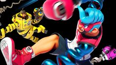 4K Spring Man and Mechanica ARMS Nintendo Switch Game 3840x2160