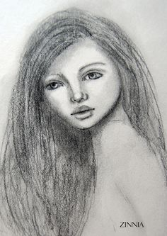 Quick Sketch, Cristina Zinnia Galliher Quick Sketch, Mixed Media Painting, Zinnias, Journaling, Mona Lisa, Artwork, Work Of Art, Caro Diario, Auguste Rodin Artwork