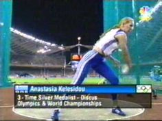 ▶ 2004 Olympic Games Women's Discus - YouTube