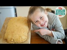 In this video recipe my Daughter Phoebe attempts to supersize a food, it's her own version of a giant chicken nugget. Giant Food, Chicken Nuggets, Food Videos, A Food, Recipes, Chicken Fingers, Recipies, Recipe