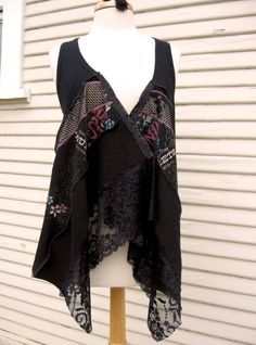 Bohemian Kouture Upcycled Clothing Gypsy by BohemianKouture, $39.00