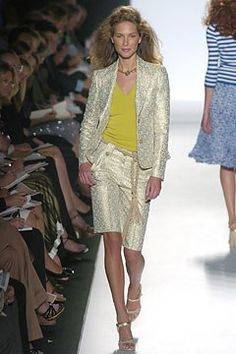 Michael Kors Collection Spring 2005 Ready-to-Wear Fashion Show - Erin Wasson