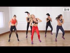 Body By Simone X PopSugar Fitness - 45 Minute Dance Cardio - YouTube this was amazing!