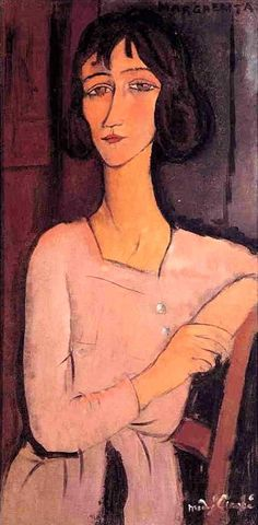 Marguerite assise - Amedeo Modigliani