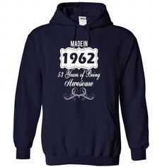 Age001 Made in 1962 Years of Being Awesome - #basic tee #sweater upcycle. BUY IT => https://www.sunfrog.com/Names/Age001-Made-in-1962-Years-of-Being-Awesome-qnqrisehte-NavyBlue-30000531-Hoodie.html?68278
