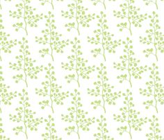 Grass Branch fabric by christiem on Spoonflower - custom fabric