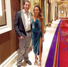 Kyle & Samantha Busch heading to the Coors Light Bash