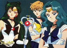 Sailor Uranus, Neptune & Pluto