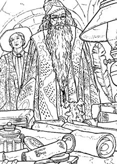 coloring page Harry Potter and the Chamber of Secrets - Harry Potter and the Chamber of Secrets