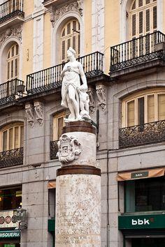 Estatua La Mariblanca (Venus) Puerta del Sol