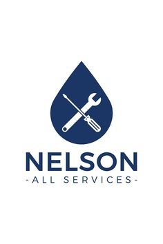 Nelson All Services Logo Design. Nelson Tasman property maintenance and repairs at affordable prices. Logo designed in Auckland, New Zealand by Design by Cheyney. Maintenance Logo, Service Logo, Logo Design, Graphic Design, Brand Board, Boutique Design, Auckland, Business Design, Design Projects