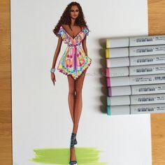 Fashion Illustration M. Michel Illustration