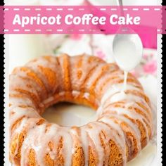 Coffee Cake Recipe Apricot Coffee Cake Recipe - This is a Sunday favorite around here. Simple but yummy.Apricot Coffee Cake Recipe - This is a Sunday favorite around here. Simple but yummy. Apricot Bread Recipe, Apricot Recipes, Fresh Apricot Cake Recipe, Fruit Recipes, Cake Recipes, Dessert Recipes, Cooking Recipes, Recipies, Dessert Ideas
