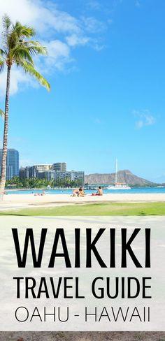 Waikiki Travel Guide, Oahu, Hawaii. Best things to do in Waikiki! Hawaii itinerary - Waikiki in one week: Hawaii vacation tips, ideas. Hikes, snorkeling, surf, biking. Cheap, free activities on a budget. Tours. With kids, families. Later shopping, food, eating, restaurants! USA bucket list destinations, honeymoon. Active travel clothes, what to wear in Hawaii, what to pack for Hawaii packing list. Walk Hilton Hawaiian Village to Outrigger to Sheraton. Waikiki Beach. #hawaii #oahu #waikiki