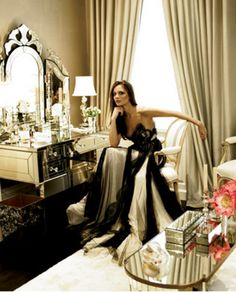 Interiors: Aerin Lauder vs. Georgina Chapman's dressing rooms