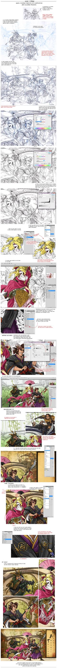 Quickie Tutorial: Color and Composition by *Canadian-Rainwater on deviantART