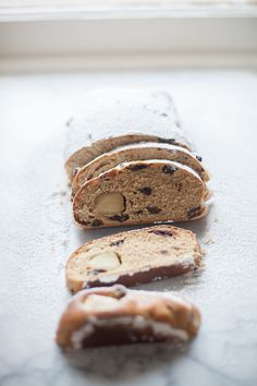 Whole Grain Christmas Stollen - Bread In Five