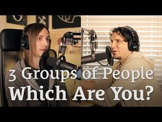 Three Groups of People: Which are you? Which are your friends?