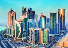 Image of product Trefl 27084 - Doha, Qatar - 2000 pieces jigsaw puzzle Doha Skyline, New York Skyline, Costa Leste, Qatar Doha, Ecommerce Solutions, Vietnam Travel, Middle East, San Francisco Skyline, The Good Place