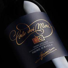 Corte dei Mori wine label