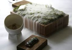 The Fat Duck... stories through food. very powerful image.